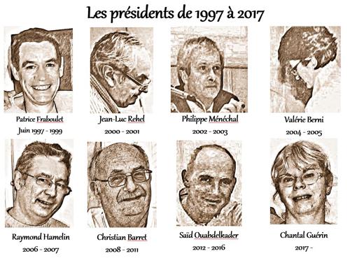 les présidents de l'apcrap