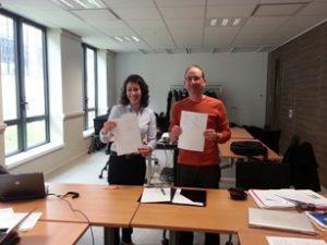 Signature Charte CoRPAR réseaux Nord et Auvergne