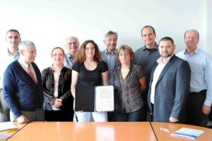 Signature Charte CoRPAR
