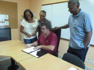 Signature Charte CoRPAR PCR971